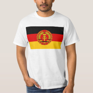 Flag of East Germany - Flagge der DDR (GDR) - NVA T-Shirt