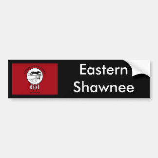 Flag of Eastern Shawnee Bumper Sticker