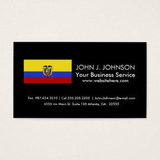 Flag of Ecuador Business Card
