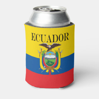 Flag of Ecuador Can Cooler