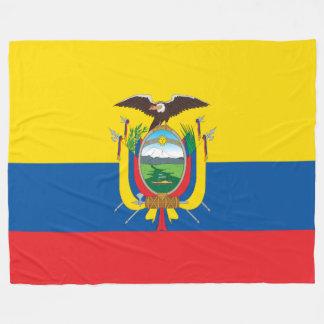 Flag of Ecuador Fleece Blanket