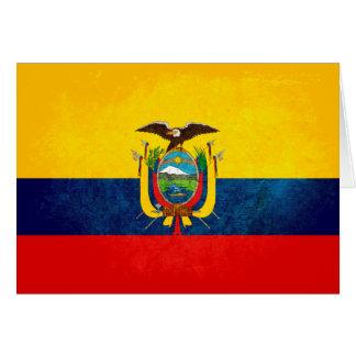 Flag of Ecuador Note Card