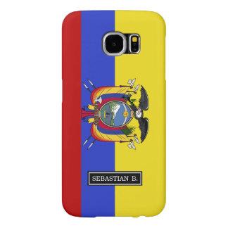 Flag of Ecuador Samsung Galaxy S6 Cases