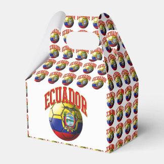 Flag of Ecuador Soccer Ball Favour Box