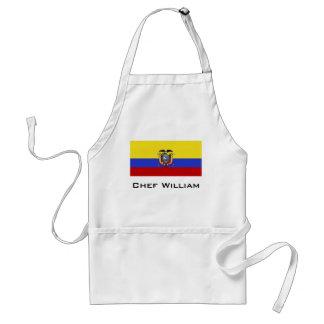 Flag of Ecuador Standard Apron