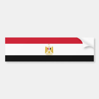Flag of Egypt Bumper Sticker
