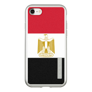 Flag of Egypt Silver iPhone Case