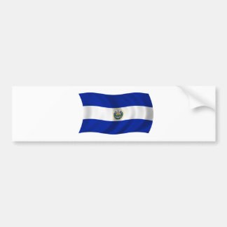 Flag of El Salvador Bumper Sticker
