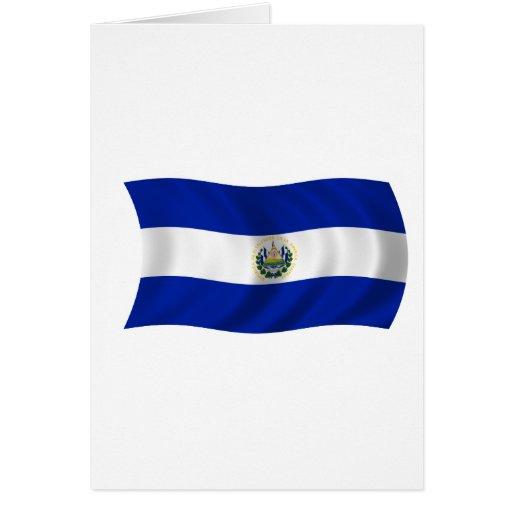 Flag of El Salvador Greeting Card