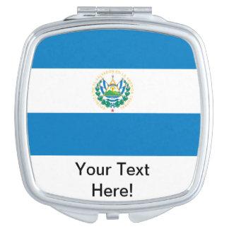 Flag of El Salvador Compact Mirrors