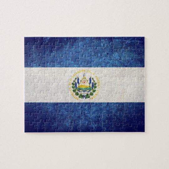 Flag of El Salvador Jigsaw Puzzle