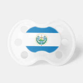 Flag of El Salvador Pacifiers