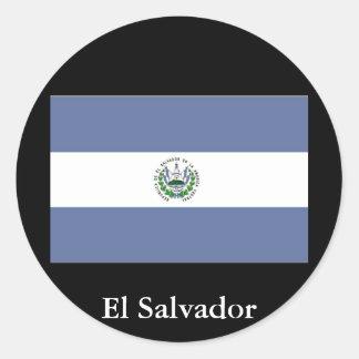 Flag of El Salvador Sticker