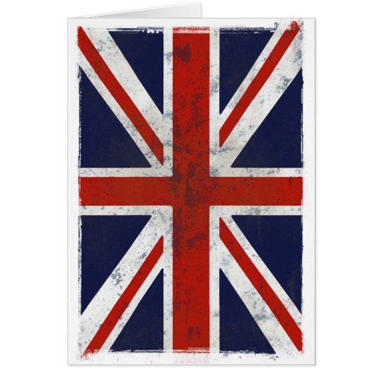 FLAG OF ENGLAND CARD