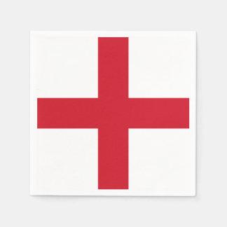 Flag of England Paper Napkins Disposable Serviette