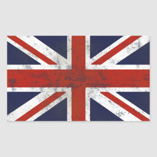 FLAG OF ENGLAND RECTANGULAR STICKER