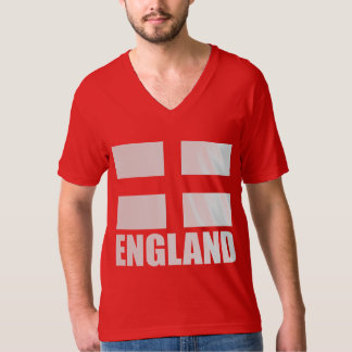 Flag Of England Red T-Shirt