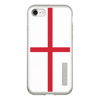 Flag of England Silver iPhone Case
