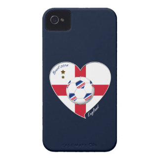 Flag of ENGLAND SOCCER of world 2014 Case-Mate iPhone 4 Cases