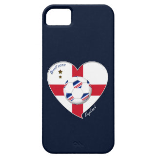 Flag of ENGLAND SOCCER of world 2014 iPhone 5 Cases