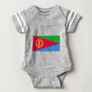 Flag of Eritrea - የኤርትራ ሰንደቅ ዓላማ - علم إريتريا Baby Bodysuit