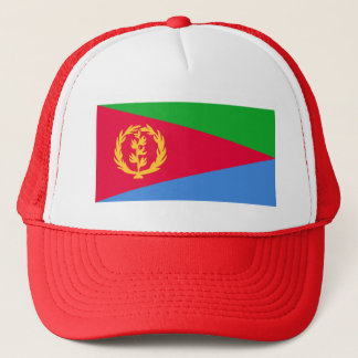 Flag of Eritrea - የኤርትራ ሰንደቅ ዓላማ - علم إريتريا Trucker Hat