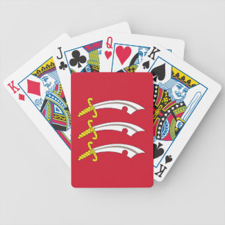 Flag of Essex Bicycle Playing Cards