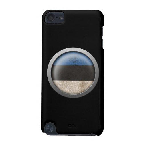 Flag of Estonia Disc iPod Touch 5G Case