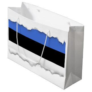 Flag of Estonia Large Gift Bag