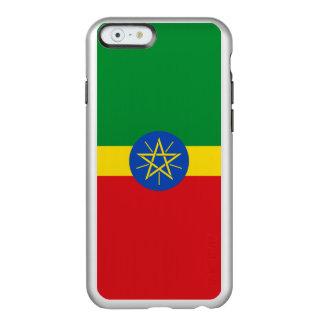 Flag of Ethiopia Silver iPhone Case