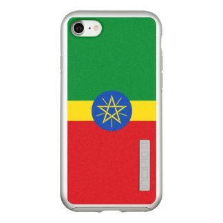 Flag of Ethiopia Silver iPhone Case