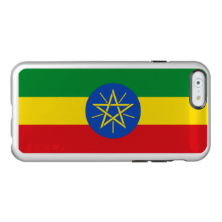 Flag of Ethiopia Silver iPhone Case Incipio Feather® Shine iPhone 6 Case