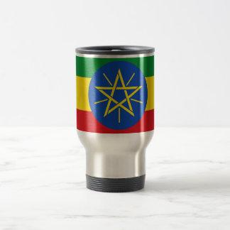 Flag of Ethiopia Travel/Commuter Mug