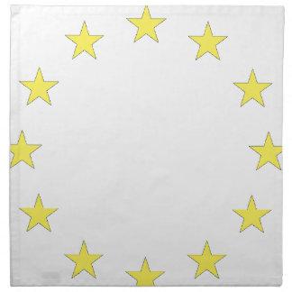 Flag of Europe - European Flag - EU European Union Napkin