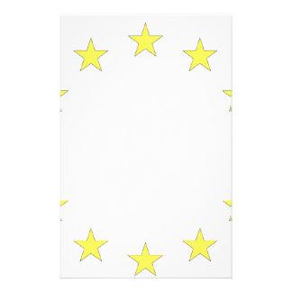 Flag of Europe - European Flag - EU European Union Stationery