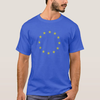 Flag of Europe - European Flag - EU European Union T-Shirt