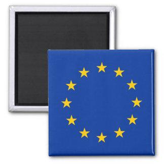 Flag of Europe, European Flag Square Magnet