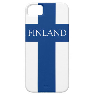 Flag of Finland Blue Cross Flag Barely There iPhone 5 Case