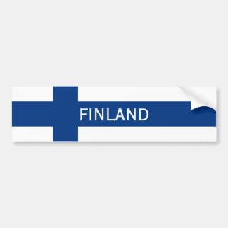 Flag of Finland Blue Cross Flag Bumper Sticker