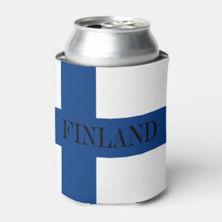 Flag of Finland Blue Cross Suomi Can Cooler