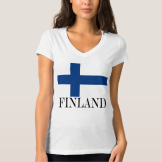 Flag of Finland Blue Cross Suomi T-Shirt