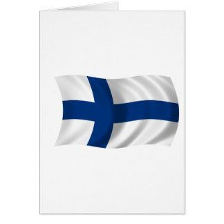 Flag of Finland Card