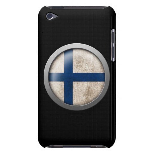 Flag of Finland Disc iPod Touch Case-Mate Case