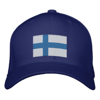 Flag of Finland Embroidered Hat