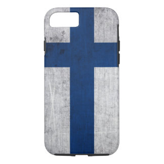 Flag of Finland Grunge iPhone 7 Case