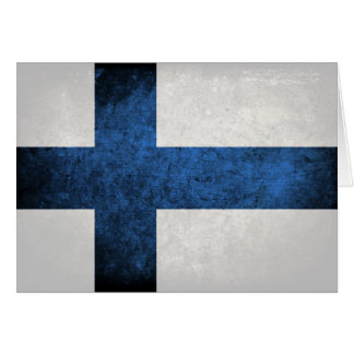 Flag of Finland Note Card