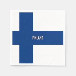 Flag of Finland Paper Napkin