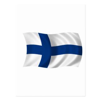 Flag of Finland Postcard
