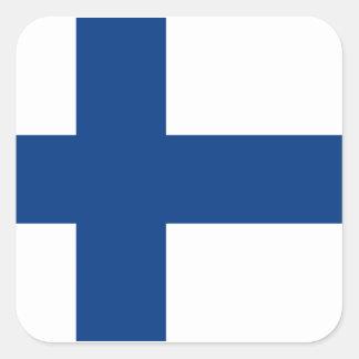 Flag of Finland Square Sticker