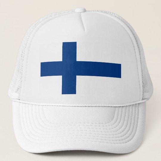 Flag of Finland (Suomen lippu, Finlands flagga) Cap